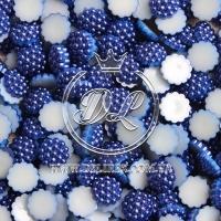 С-ка пупер пластик  1 см,темно-синий