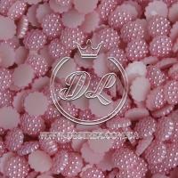 С-ка пупер пластик  1 см, розовый