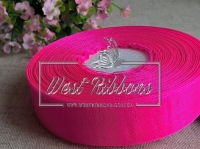Органза 0,6 см , насыщенно яр.розовый