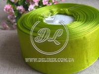 Органза 4 см , оливковая
