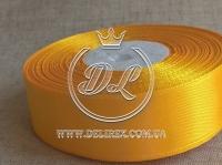 Атлас 2.5 см , темно-желтый  112