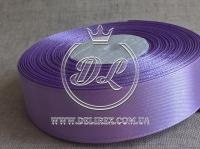 Атлас 2.5 см , средне-фиолетовый  21