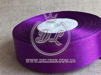 Атлас 0.6 см , темно-фиолетовый  182