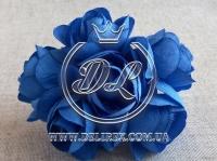 Камелия 5 см , темно-синяя
