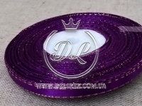 Люрекс 0.6 см, темно-фиолетовый