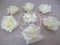 Бутоны роз  # 07 , молочные (100 шт.)