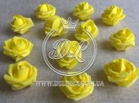 Бутоны роз  # 0105 , желтые (100 шт.)
