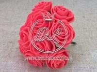 Роза  # 11007 -3 см, коралловая
