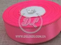 Люрекс 2.5 см , ярко-розовый