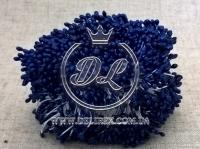 Тычинки 2 мм, темно-синие
