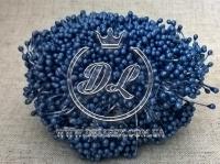Тычинки 2 мм, синие