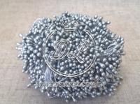 Тычинки 2 мм, серебро
