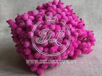 Калина в сахаре , насыщенно яр.розовая