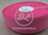 Репс 0.6 см, грязно ярко-розовый