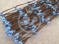Веточка 40 см , голубая