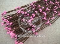 Веточка 40 см , розовая