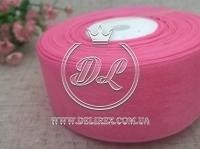 Органза 4 см , гр.ярко-розовая