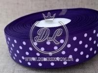 Репс в Горох 0.9 см, темно-фиолетовый 035