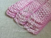 Повязки 4 см , розовые тоНкие