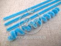 Синельная ( ПУШИСТАЯ ) проволока, голубая