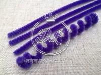 Синельная ( ПУШИСТАЯ ) проволока, темно-фиолетовая