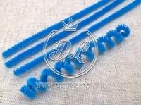 Синельная ( ПУШИСТАЯ ) проволока, ср.синяя