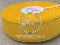 Репс с люрексом 2.5 см (золото), желтый