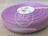 Репс с люрексом 1.5 см (золото), св.фиолетовый