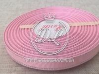 Репс с люрексом 0.9 см (серебро), розовый