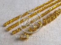 Проволока с люрексом, золото
