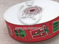 Репс 2.5 см подарки на  красном