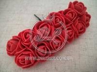 Роза из фома 2.2 см, красная