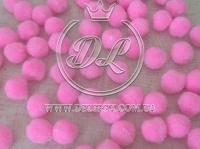 Помпоны 1.8 см  розовые