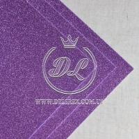 Фом с глиттером, средне-фиолетовый (БЕЗ К / О)