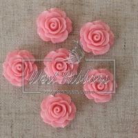 С-ка роза акрил 2 см , розовая