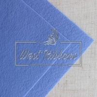 Фетр 1 мм, голубой