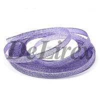 Парча 0.6 см, фиолетовая