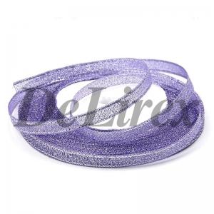Парча 0.9 см, фиолетовая